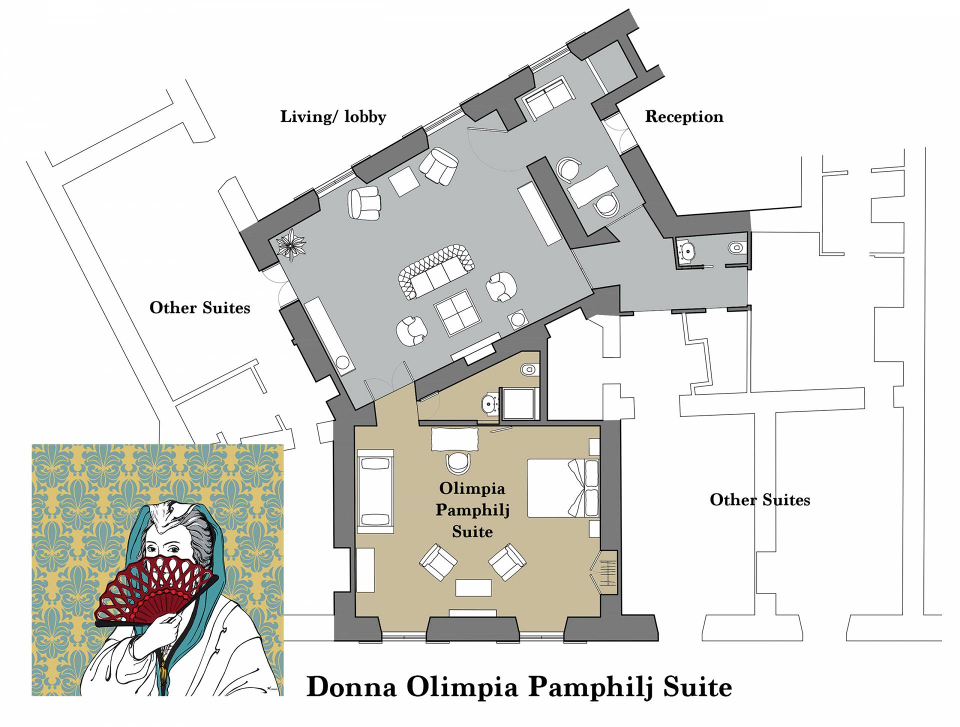 Olimpia-mappa