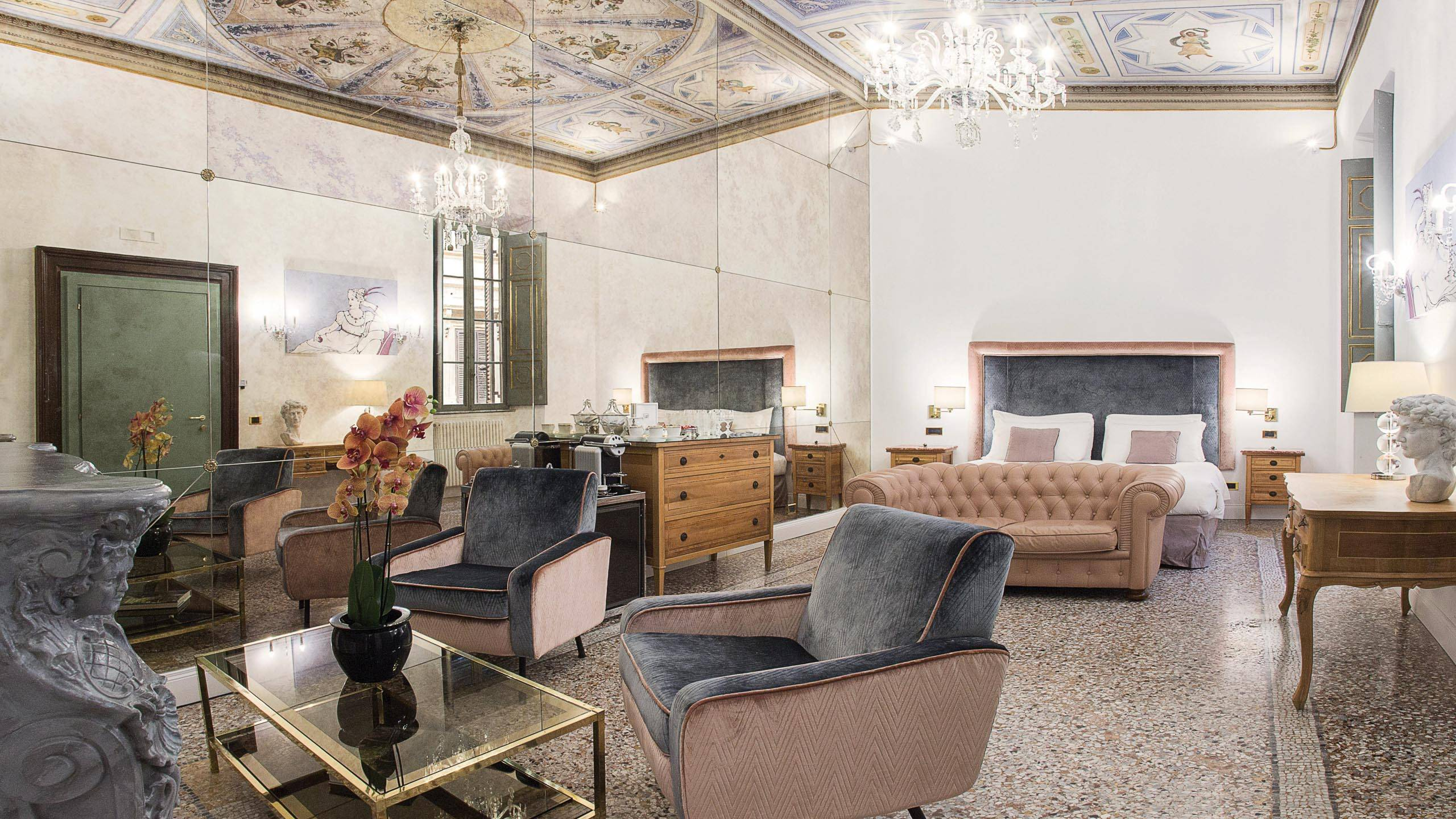 Nobildonne Relais Rome Paolina Borghese Suite